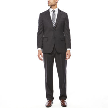jcpenney.com | Stafford® Travel Stretch Charcoal Suit Separates-Classic Fit