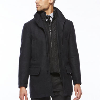 jcpenney.com | Collection by Michael Strahan™ Charcoal Wool Overcoat