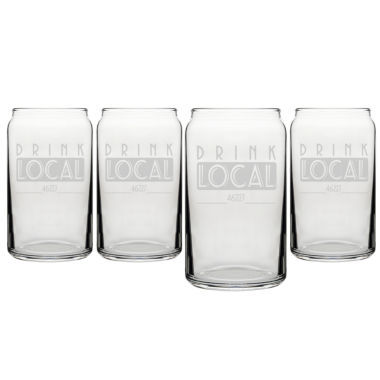 jcpenney.com | Cathy's Concepts 4-pc. Pint Glass