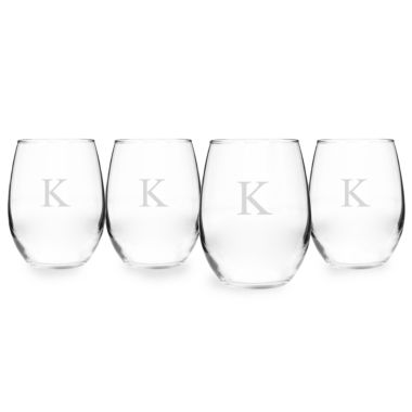 jcpenney.com | Cathy's Concepts 4-pc. Wine Glass