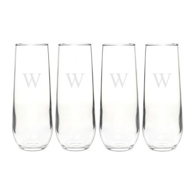 jcpenney.com | Cathy's Concepts Stemless 4-pc. Champagne Flutes