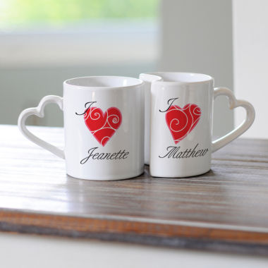 jcpenney.com | Cathy's Concepts Heart 2-pc. Coffee Mug