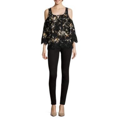 jcpenney.com | i jeans by Buffalo Cold-Shoulder Blouse or Jeggings