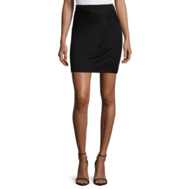 jcpenney.com | a.n.a® Front-Knot Skirt - Tall