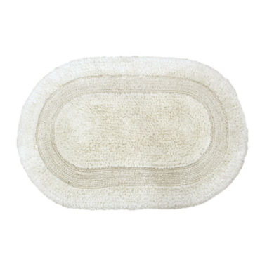jcpenney.com | Gracious Reversible Oval Bath Rug Collection