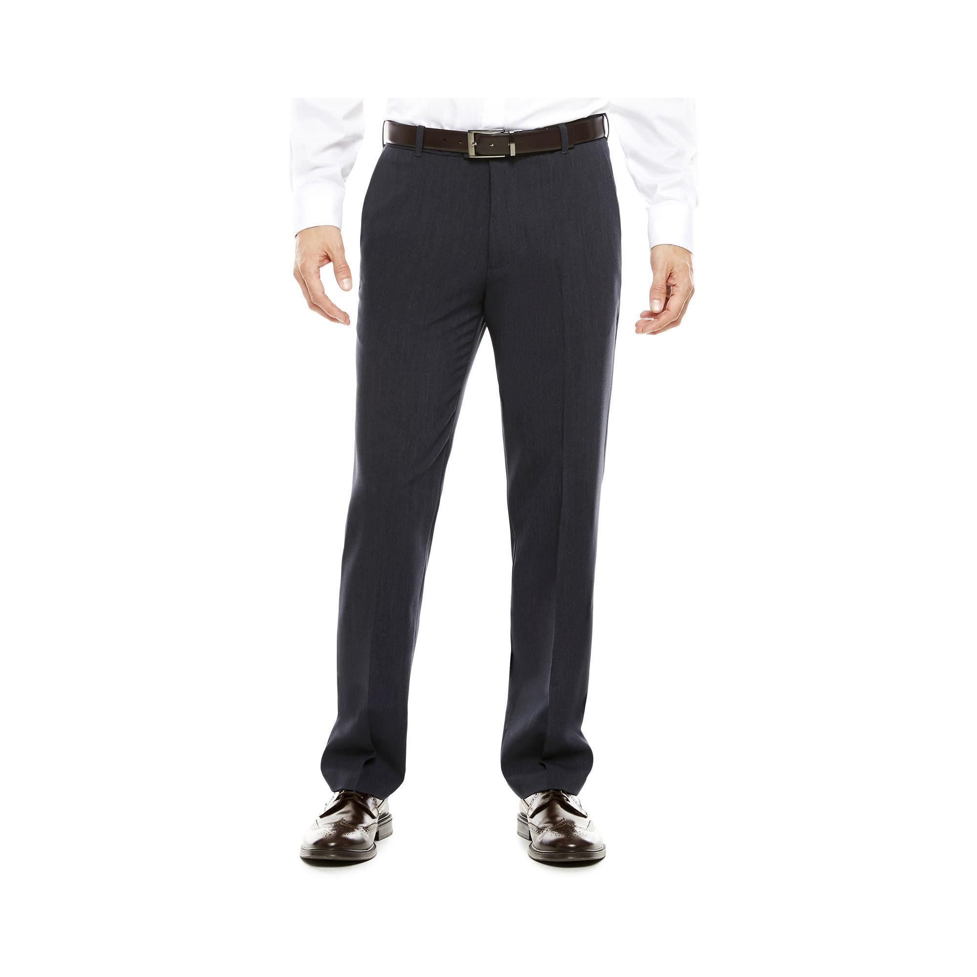 1535cdc320799 UPC 013282970848 - Van Heusen Flex Flat-Front Pants | upcitemdb.com