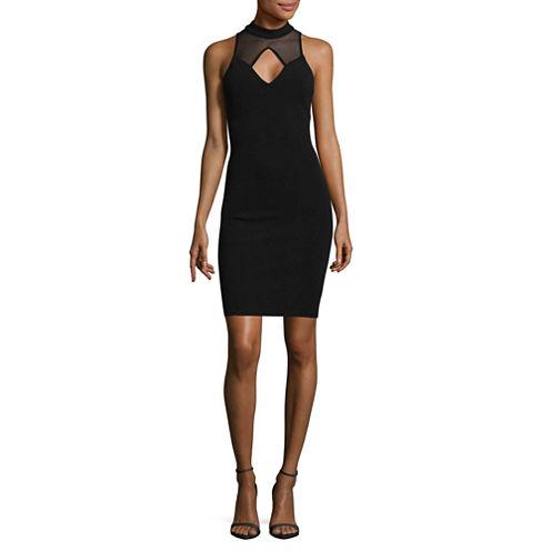 My Michelle Sleeveless Bodycon Dress-Juniors