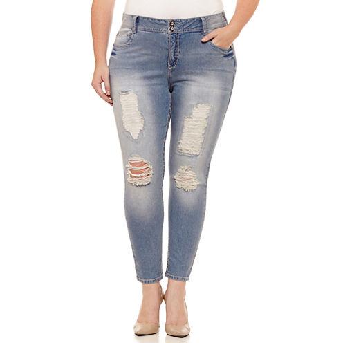 Wallflower Skinny Fit Jean-Juniors Plus