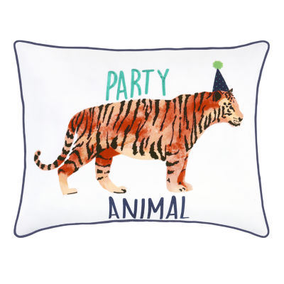 Frank And Lulu Party Animal Throw Pillow