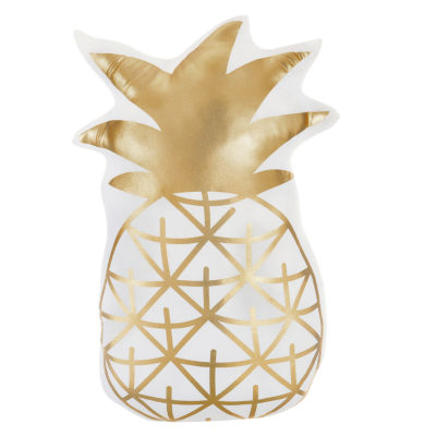 Frank And Lulu Pineapple Throw Pillow