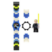 LEGO® Kids Star Wars Minifigure Watch Set