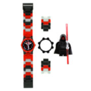 LEGO® Kids Darth Maul Minifigure Watch Set