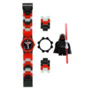 LEGO® Kids Darth Maul Minifigure Watch Set