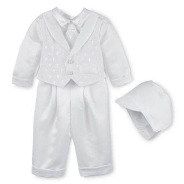 jcpenney.com | Keepsake® Vested Christening Set - Boys newborn-24m