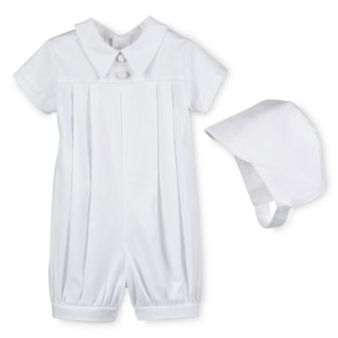 jcpenney.com | Keepsake® Christening Romper Gown - Boys newborn-24m