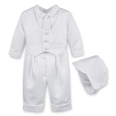 jcpenney.com | Keepsake® Satin Christening Pants Set - Boys newborn-24m