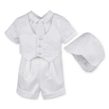 jcpenney.com | Keepsake® Christening Shorts Set - Boys newborn-24m