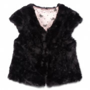 Sally M™ Sally Miller Faux Fur Vest - Girls 6-16
