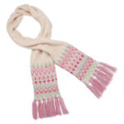 Arizona Fair Isle Scarf - Girls
