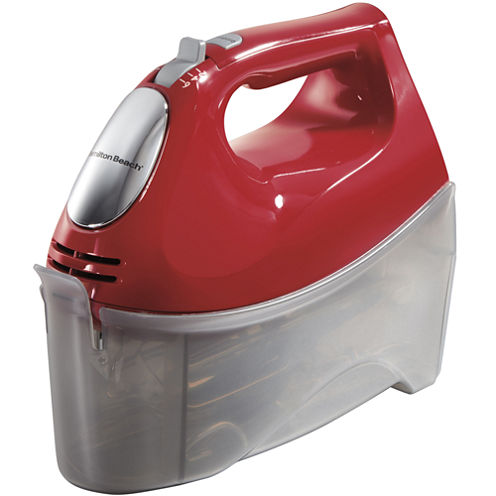 Hamilton Beach® 6-Speed Hand Mixer + Snap On Case