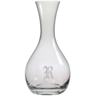 jcpenney.com | 1 Letter Old English Monogrammed Wine Carafe