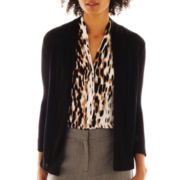 Worthington® Textured Open-Front Cardigan Sweater