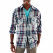 Arizona Long-Sleeve Flannel Woven Shirt
