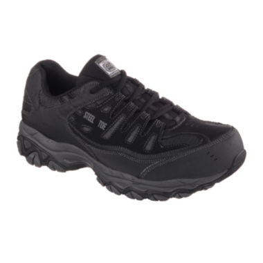 jcpenney.com | Skechers® Cankton Mens Steel-Toe Work Sneakers