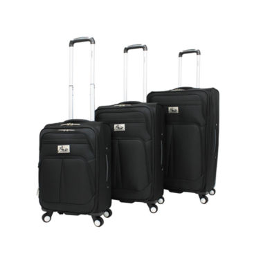 jcpenney.com | Chariot Travelware Taranto 3-pc. Luggage Set