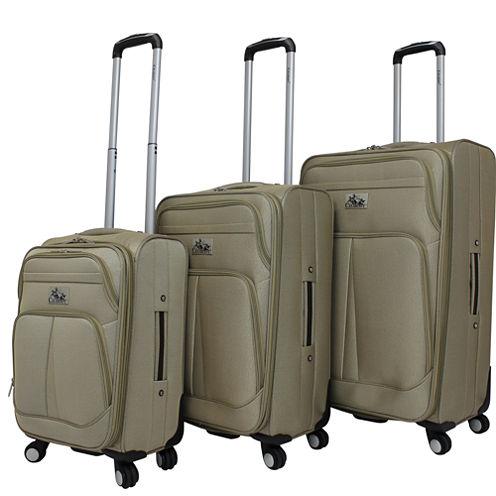 Chariot Travelware Taranto 3-pc. Luggage Set