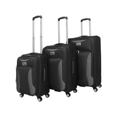 jcpenney.com | Chariot Travelware Bari 3 Piece 3-pc. Luggage Set