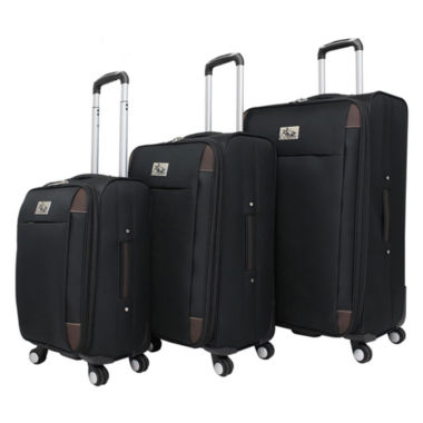 jcpenney.com | Chariot Travelware Milan 3 Piece 3-pc. Luggage Set