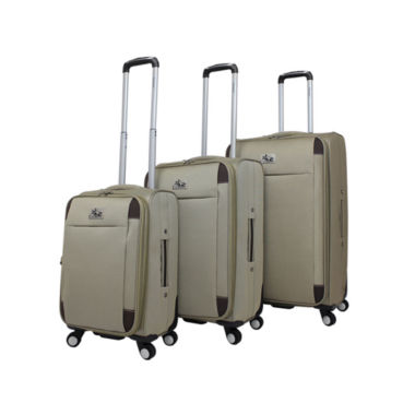 jcpenney.com | Chariot Travelware Milan 3-pc. Luggage Set