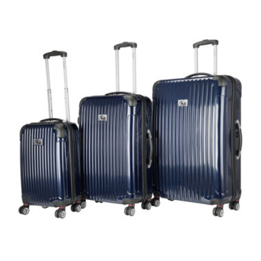 jcpenney.com | Chariot Travelware Paola 3-pc. Hardside Luggage Set