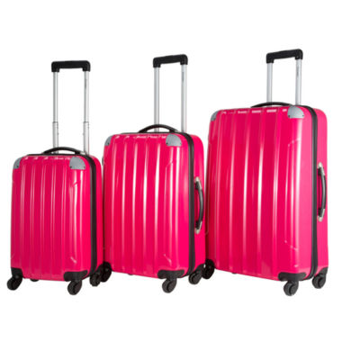 jcpenney.com | Chariot Travelware Vercelli 3-pc. Hardside Luggage Set