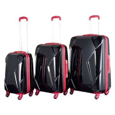 jcpenney.com | Chariot Travelware Antonio 3-pc. Hardside Luggage Set