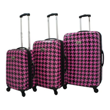 jcpenney.com | Chariot Travelware Bird 3-pc. Hardside Luggage Set