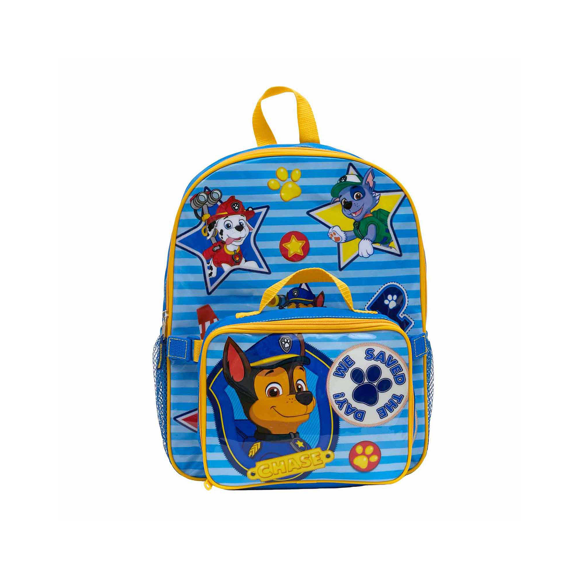 """Paw Patrol """"We Save the Day"""" Boys' Backpack with Lunch Kit"""