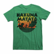 Short-Sleeve The Lion King Hakuna Matata Tee