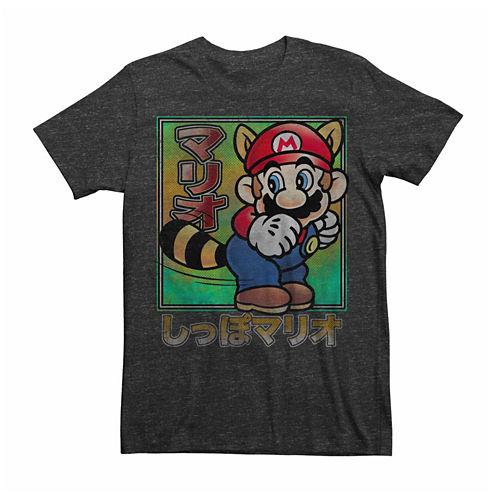 Nintendo® Short-Sleeve Super Mario Raccoon Tee