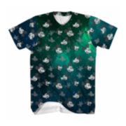 Disney Collection Short-Sleeve Mickey Space Tee