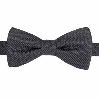 jcpenney.com | JF J. Ferrar® Textured Satin Striped Pre-Tied Bow Tie