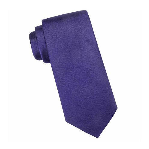 Collection by Michael Strahan™ Glendale Solid Fall Fashion Silk Tie - Extra Long