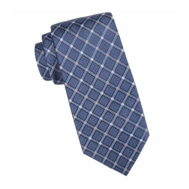jcpenney.com | Collection by Michael Strahan™ Parker Grid Silk Tie - Extra Long