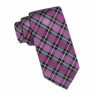jcpenney.com | Stafford® Max Plaid Silk Tie