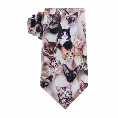 jcpenney.com | American Traditions Cat Camo Tie