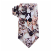 American Traditions Cat Camo Tie