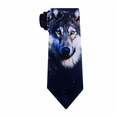 American Traditions Wolf 1 Tie