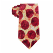 American Traditions Pepperoni Pizza Tie