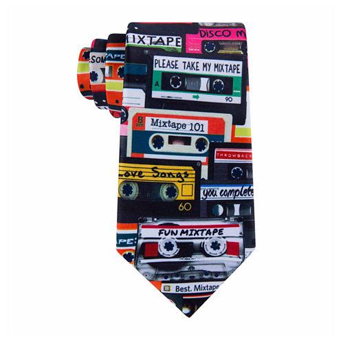 American Traditions Retro Mix Tape Tie